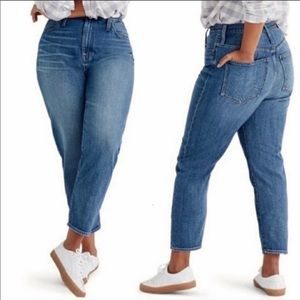 Madewell Jeans MomJean High Waisted Rise Plus 36